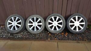 """Reduce !!! 18"""" rims and Michelin tires.  Regina Regina Area image 3"""
