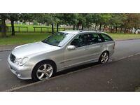 Bargain Facelift Mercedes C230 Avantgarde V6 Estate 7S Sport**Long Mot