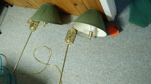 Bedroom Wall Mounted Brass Sconce