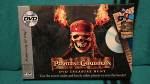 PIRATES OF THE CARIBBEAN DVD/BOARD GAME - $20.00