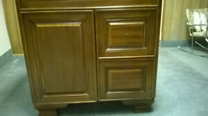 Bathroom Cabinet and Top