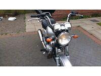 Yamaha 125 YBR CUSTOM Fuel Injected