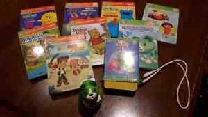 Leapfrog Tag Junior Reader w/7 books and flash cards!!