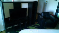 Ikea display unit and tv entertainment unit