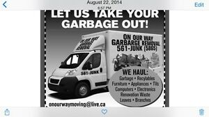 Spring cleaning time! Get rid of your junk Today! 902-561-5865