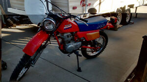 LOST **  1986 Honda XL100