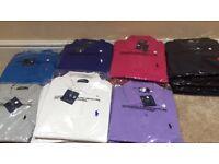 Ralph Lauren job lot joblot wholesale bulk RL polo pony S M L XL XLL