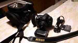 Nikon d90 avec lentille 50mm