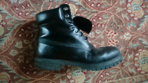 timberland boots  leather - cuir