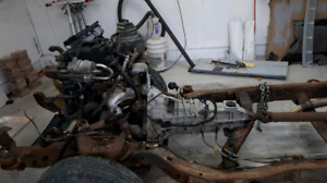 Chevy 2.2 engine and 5 speed transmission