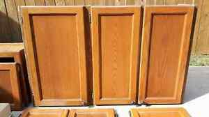 Oak kitchen cabinets and drawers  Cambridge Kitchener Area image 2