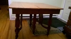 Antique dining table. Kitchener / Waterloo Kitchener Area image 5