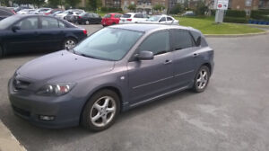 Mazda 3 2007 GS 2.3L  Automatique A1    105000KM