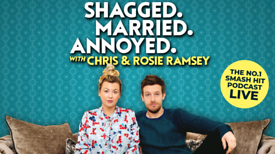 TONIGHT: two tickets for the Shagged Married Annoyed podcast