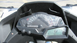 2014 NINJA 300 with low mileage