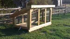 Mobile chicken coop, duck house, or hutch for sale