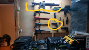 The 2 circled ones iam selling