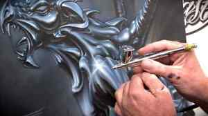 looking for automotive airbrush shop..please help