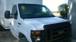 Selling 2015 E450 Ford Cube Van Great Condition $22,000