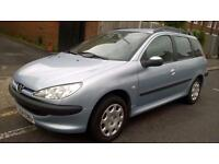 Peugeot 206 SW 2.0HDi 90 ( a/c ) 2005MY S, EXCELLENT CONDITION