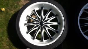 22 inch decenti rims and tires