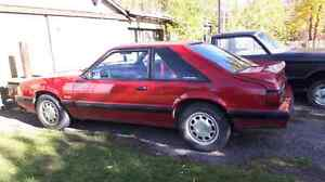 1987 Mustang 5.0 HO IN THE CROWSNEST PASS