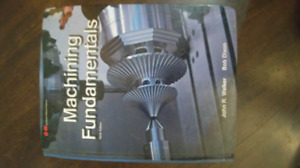 MACHINING FUNDEMENTALS TEXTBOOK FANSHAWE COLLEGE