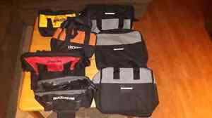 7 power tool bags for sale! Cambridge Kitchener Area image 1