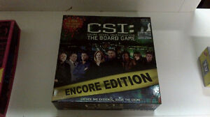 2 Board Games - CSI and Pubcrawler