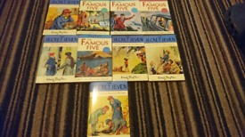 9 Enid Blyton books, can post