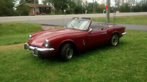Historic 1968 Triumph Spitfire available now
