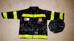 Firefighter jacket and treat bag