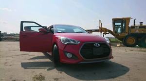 2016 Hyunday Veloster Turbo, w/tech package