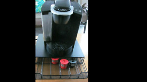 Keurig  Coffee Maker with Storage stand