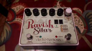 Genz-Benz EHX Ravish Sitar Pedals and Guitars