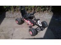 child's pedal go kart, good full working order