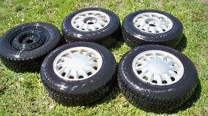 5-205/70R15 WINTER TIRES ON RIMS...NOW $200!!!