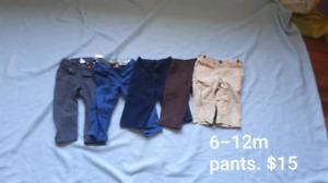 6-12m pants lot
