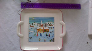 Villeroy and Boch Christmas serving plate