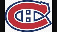 Billets Canadiens tickets 9 décembre Bruins  Boston et +