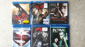 BluRays for sale ... new condition