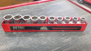 MAC TOOLS METRIC SOCKETS