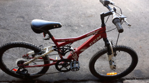 Kids CCM Dual Suspenion Bike