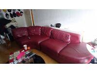 3 Piece Quality leather Sofa.