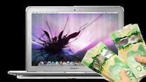 Get cash from  old broken Apple Macbook Pro, Macbook Air