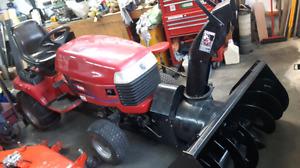 tracteur toro weeller horse  tondeuse et souffleur