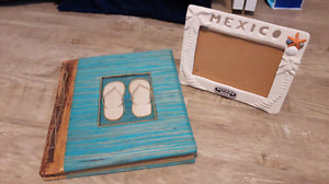 Mexico photo album with frame