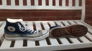 Converse All Star, Chuck Taylor High tops, washed denim