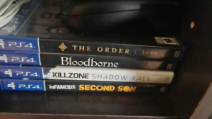4 ps4 games all for 25$
