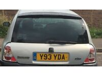 Renault Clio 1.2 3DR boot complete paint code: MV632